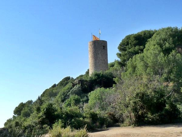 Castell San Joan Lloret de Mar Cami de Ronda
