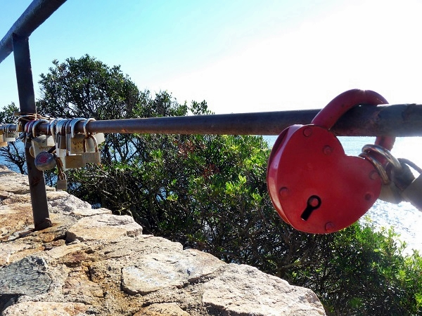 Lloret Aussichtspunkt Dona Marinera Schloss Cami de Ronda