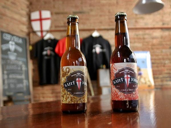 Cerveseria Sant Jordi Bier