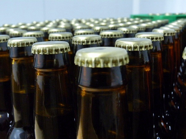Sant Jordi Flaschen Bier