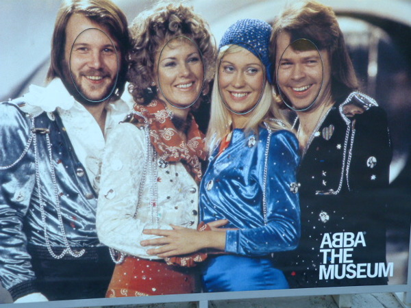 Abba Museum eingang