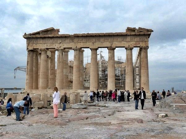 Akropolis Parthenon Athen