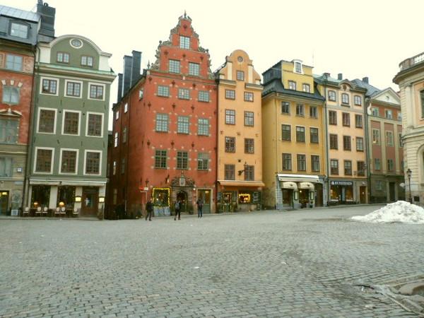 Altstadt Häuser Gamla Stan Stortorget