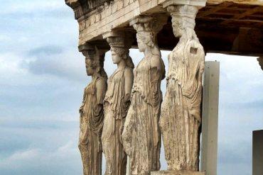 Athen Akropolis Tempel Erechteion
