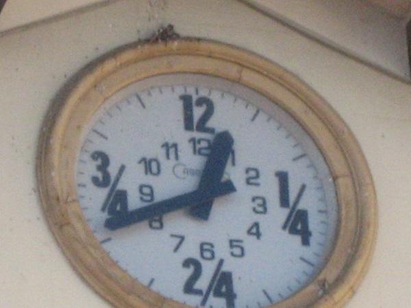 Cardedeu Rathaus Uhr