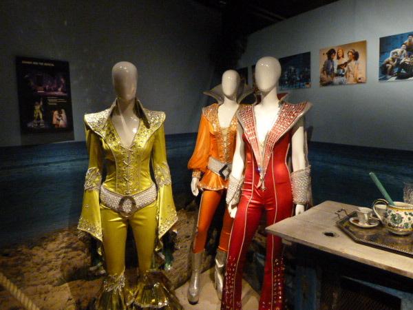 Kostüme Abba Museum Stockhom