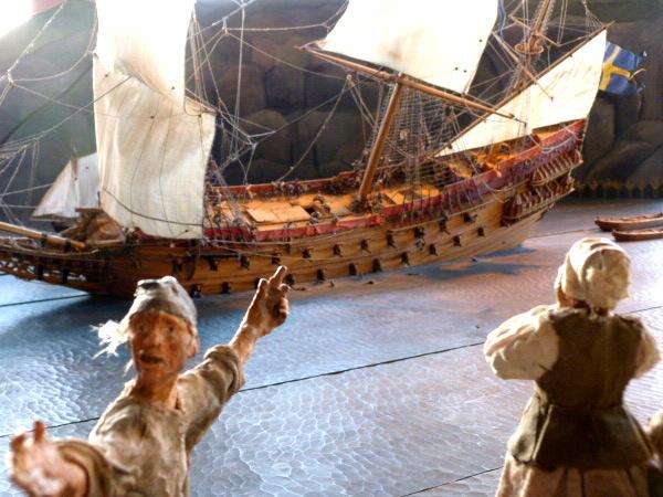 Untergang der Vasa Modell Museum
