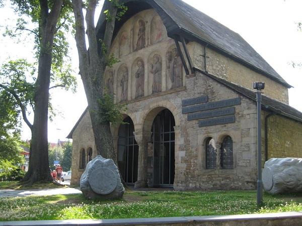 Vorhalle Kirche Kaiserpfalz goslar