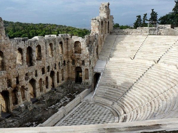 roemisches Theater  Akropolis