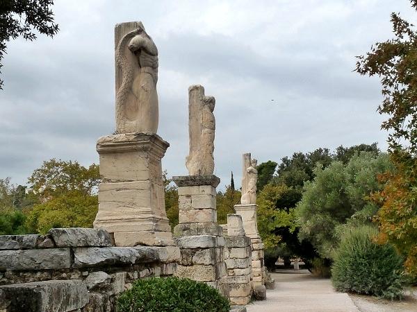 tempel agora athen