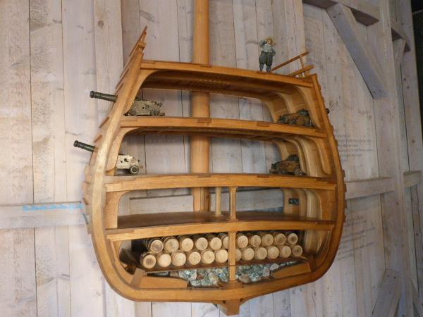 vasa museum modell beladung