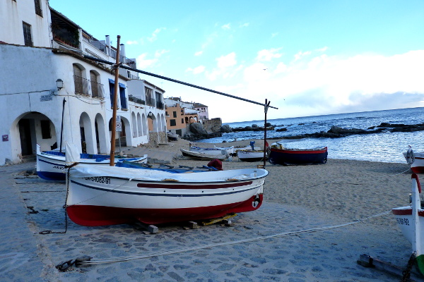 Boot Strand Calella de Palafrugell