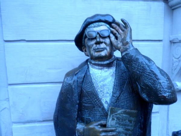 Evert Taube Skulptur Gamla Stan Stockholm