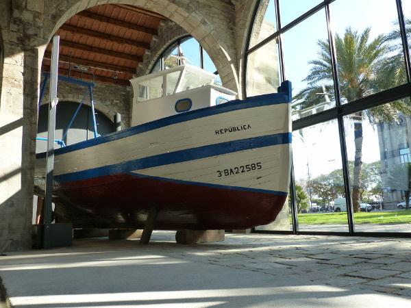 Fischerboot Drassanes Museu Maritim