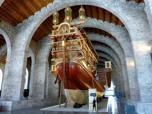 Galeere Real Schlacht Lepanto Drassanes Barcelona