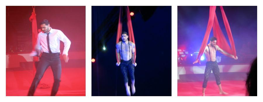 Gustavo Luftakrobatik Zirkus Figueres