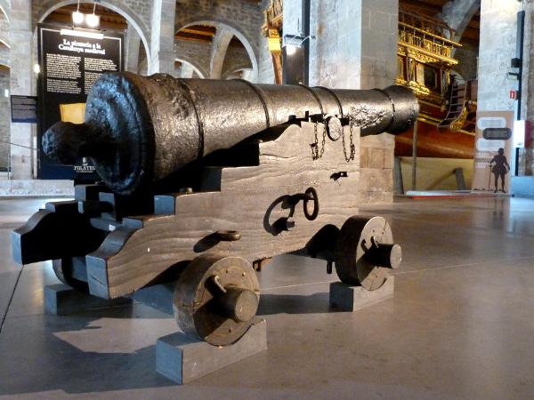 Kanone Piraten Ausstellung Museo Maritimo
