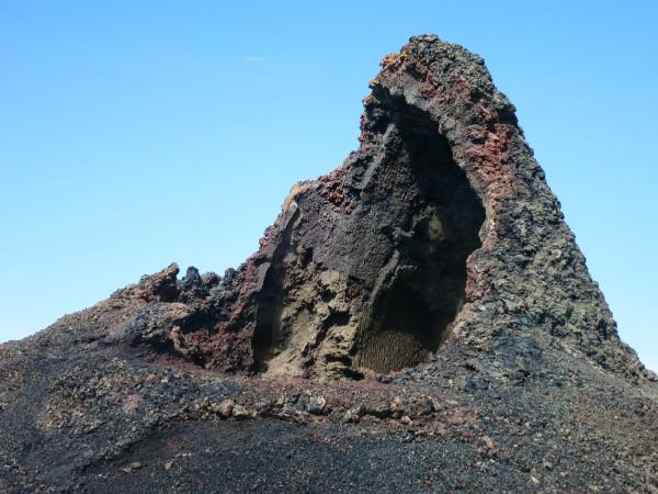 Lava Ausstülpungen Timanfaya Lanzarote