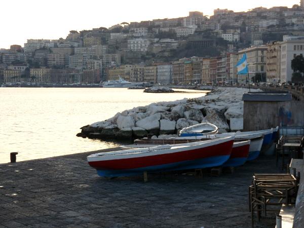 Neapel Fischerboote