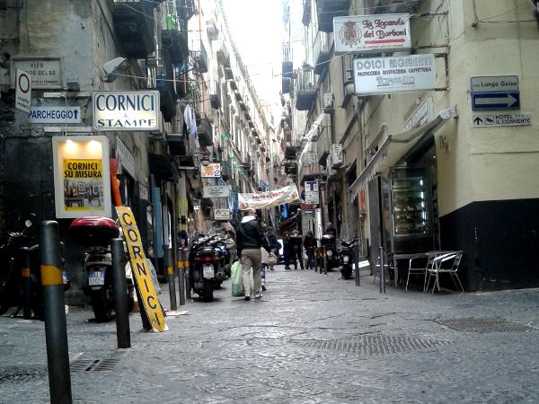 Neapel Napoli centro storico