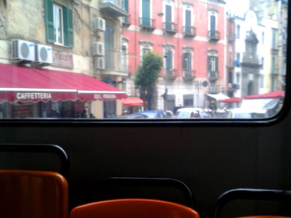 Neapel im Bus