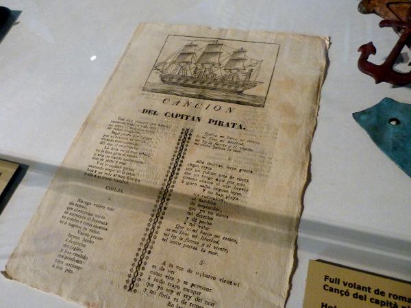 Piraten im Museu Maritim Barcelona