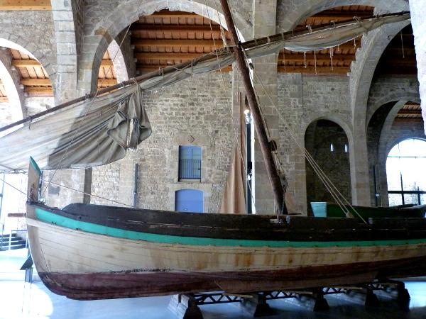 Schiffe Schiffahrtsmuseum Barcelona