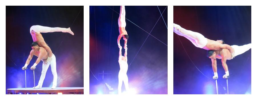 Silis Brothers zirkus Akrobaten