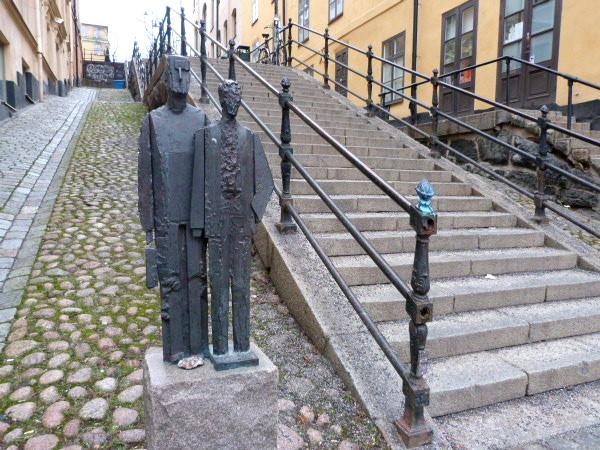 Skulptur Södermalm Stockholm
