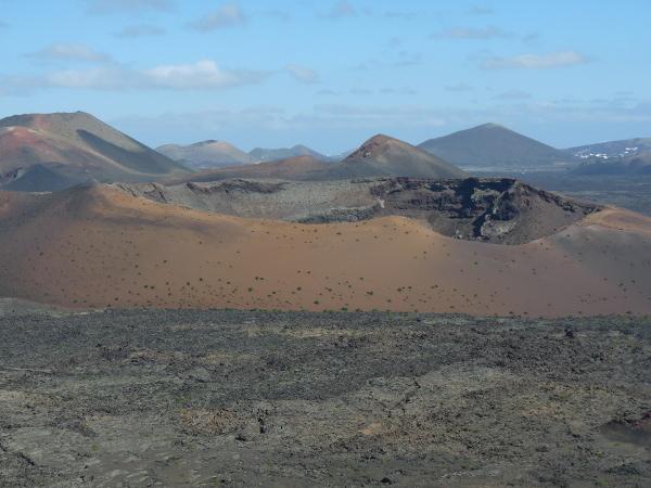 Vulkan timanfayo Lanzarote