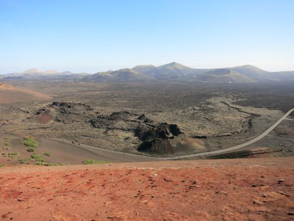 bizarre Landschaften Vulkan Nationalpark Lanzarote