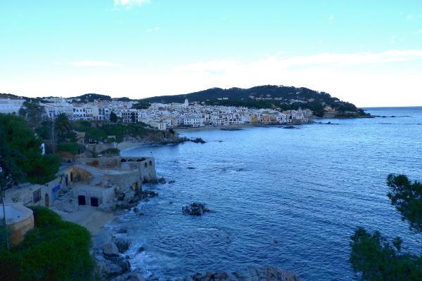 blick auf Calella de Palafrugell Cami de Rondes