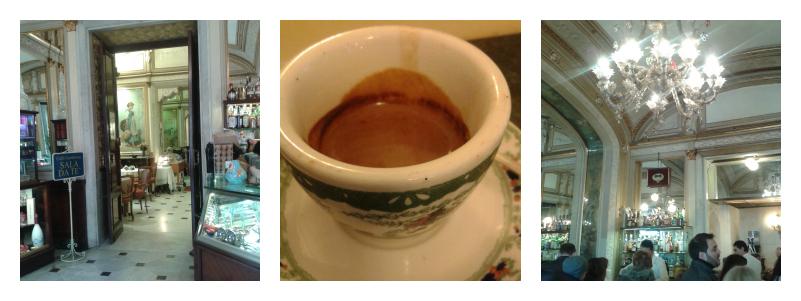 caffè sospeso Gran Gambrinus Neapel