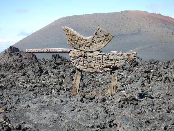 montanas de fuego Lanzarote