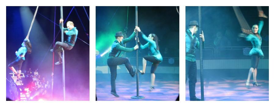 stange und Band Zirkus
