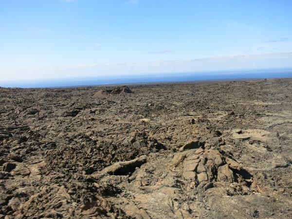 vulkan Lava landschaft Lanzarote