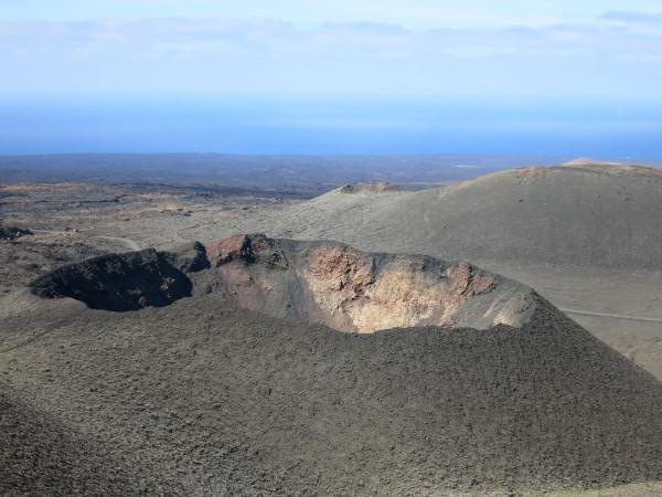 vulkankrater Timanfayo Lanzarote