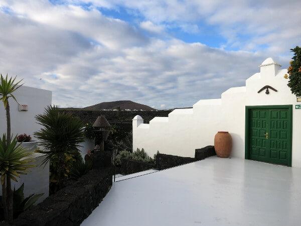 Anlage Cesar Manrique Haus Landschaft Lanzarote