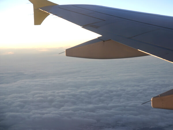 Flug über den Wolken- Wochenende in Barcelona