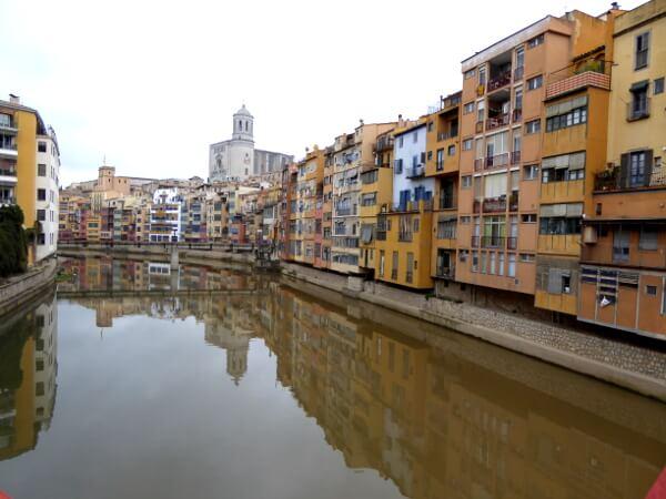 Girona Rückseite Casa Maso Onyar