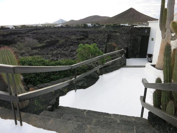 Haus cesar Manrique Lanzarote Vulkanlanschaft