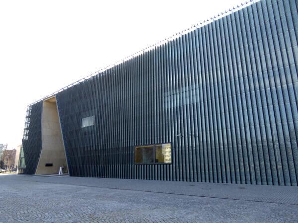Historisches museum der polnischen Juden Warschau