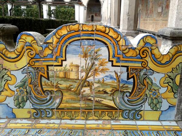 Kloster Kirche Santa Chiara Neapel