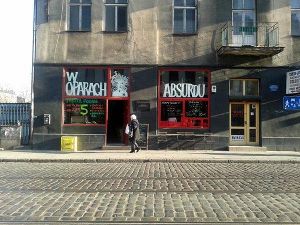 Kneipe in Praga Warschau