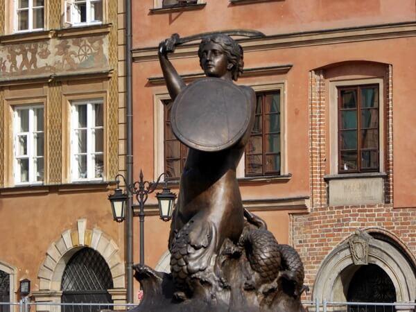 Meerjungfrau altstadt Warschau