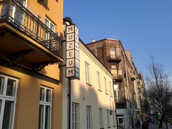 Muzeum Praga Warschau