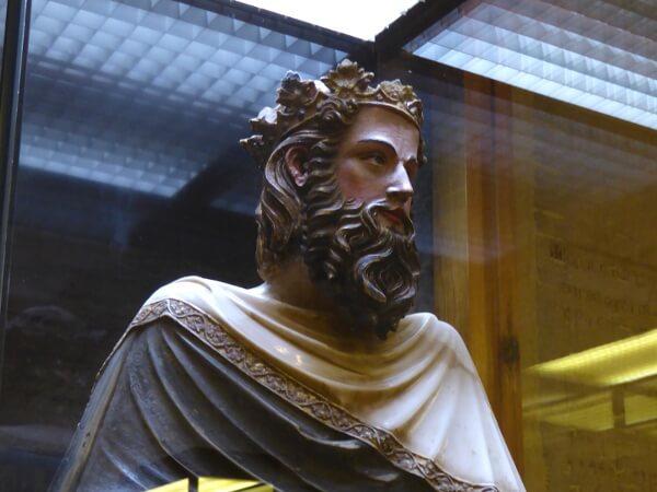 Statue Heiliger Karl der Grosse Sant Carlemany