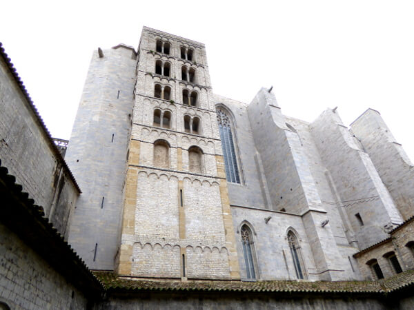 Torre Carlemany Catedral Girona Kathedrale Karl der Grosse Turm
