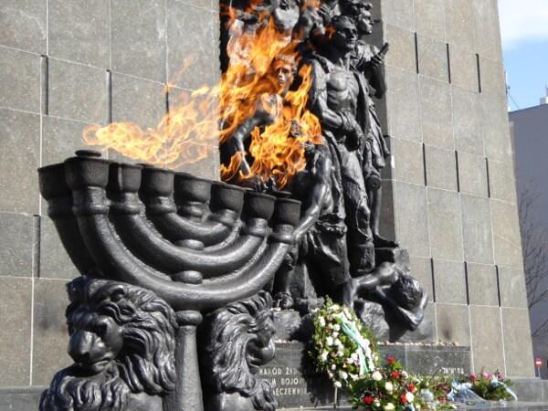 Warschau Denkmal der Ghettohelden