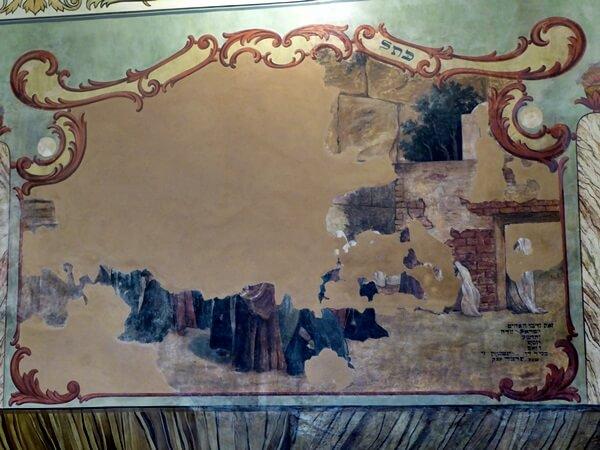 Warschau Museum Praga Wandgemälde